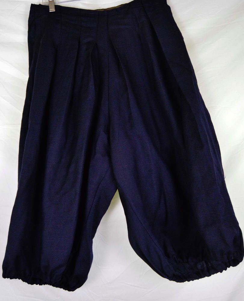 Unisex Victorian Edwardian Bicycle Bloomer Pants Knickers Sport