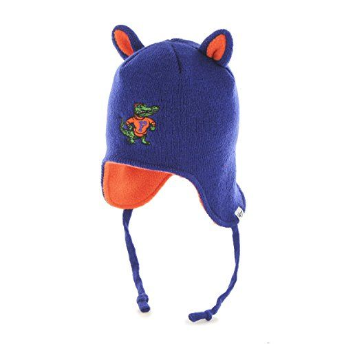 NCAA Florida Gators Toddler  47 Little Monster Knit Hat with Animal Ears  and Ear Flaps 4e2830708e08