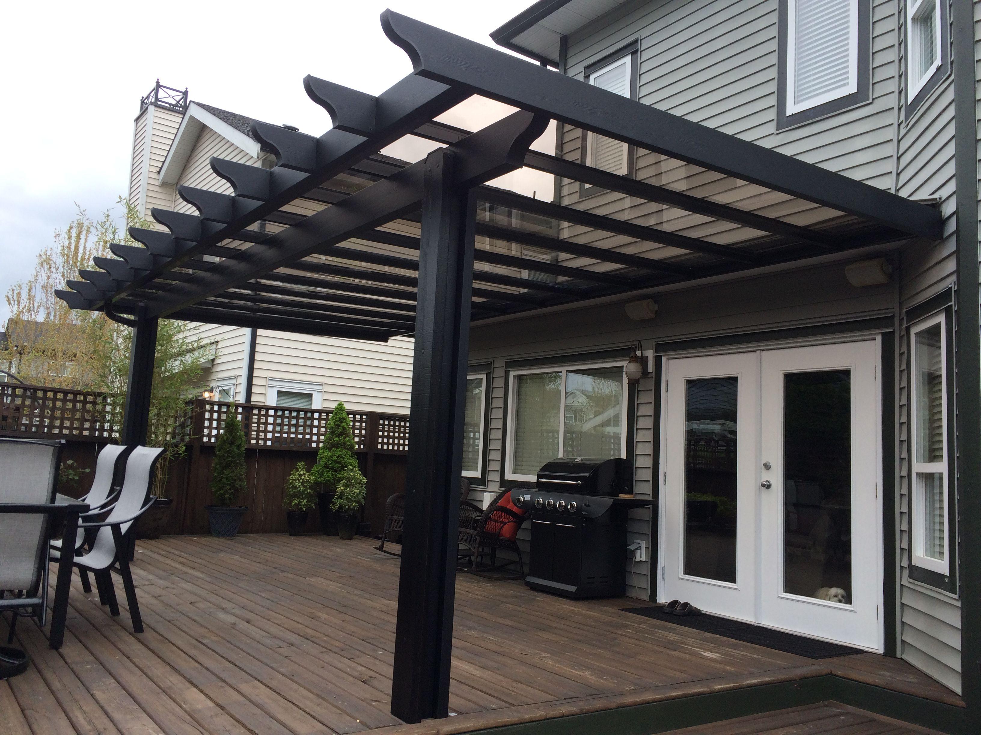 Black Pergola Glass Roof Outdoor Pergola Pergola Black Pergola