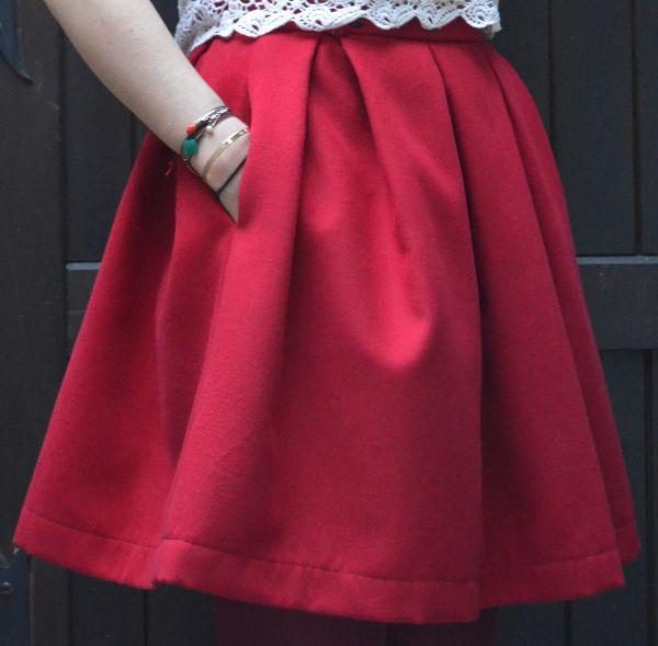 Super fashionmicmac-jupe à gros plis 1 | patrons couture | Pinterest  WA68