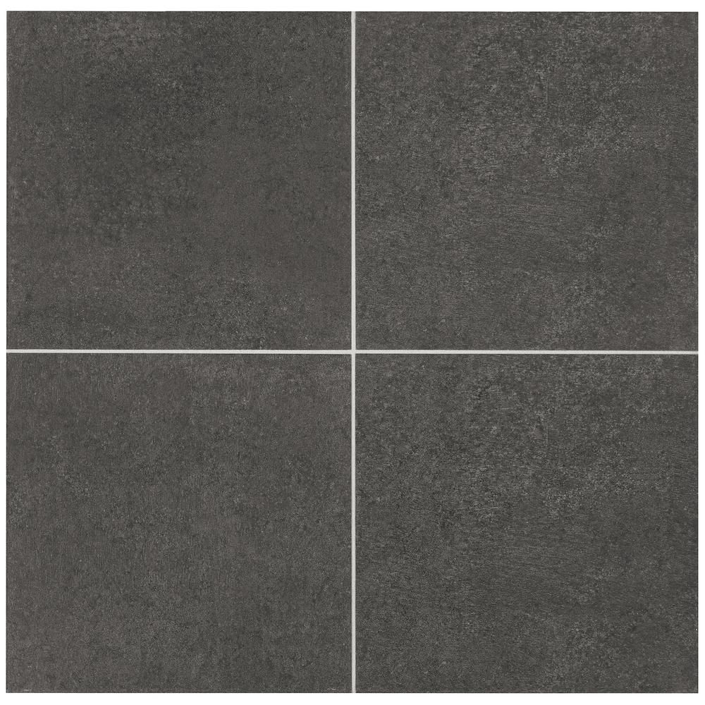 Marazzi eclectic vintage charcoal concrete 12 in x 12 in porcelain marazzi eclectic vintage charcoal concrete 12 in x 12 in porcelain floor and wall dailygadgetfo Image collections