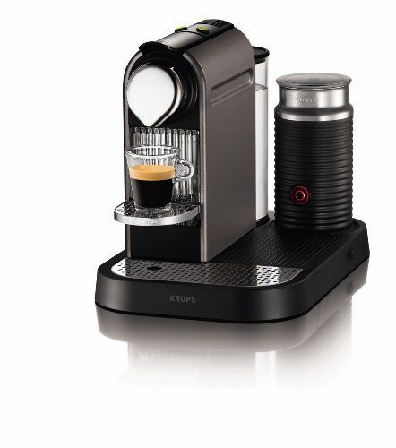 Nespresso CitiZ And Milk By Krups XN730T40 Coffee Machine, Titanium By  Krups, Http: