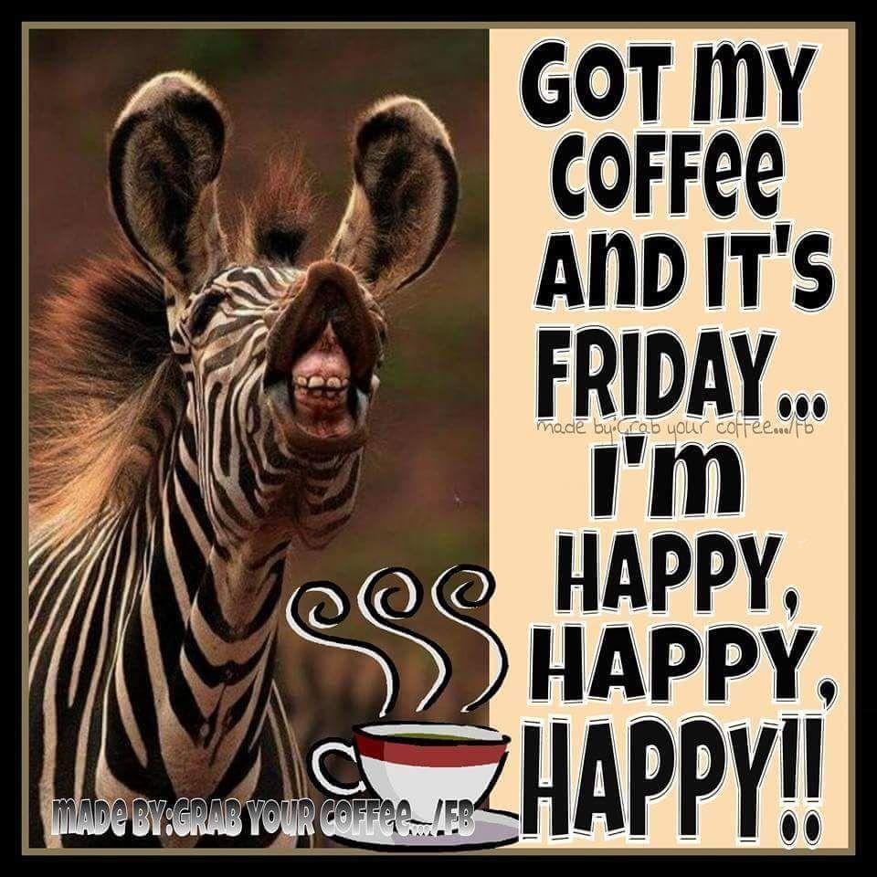 Giraffe meme friday coffee quote
