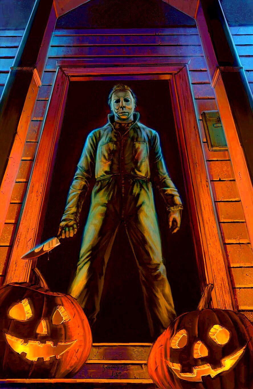 Halloween is just around the corner !! Horror artwork