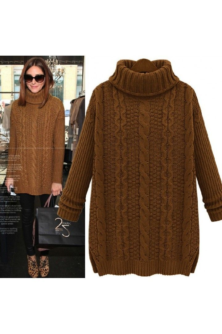 only $46. Whitelilyfashion.com Olivia Palermo brown-camel-pumpkin ...