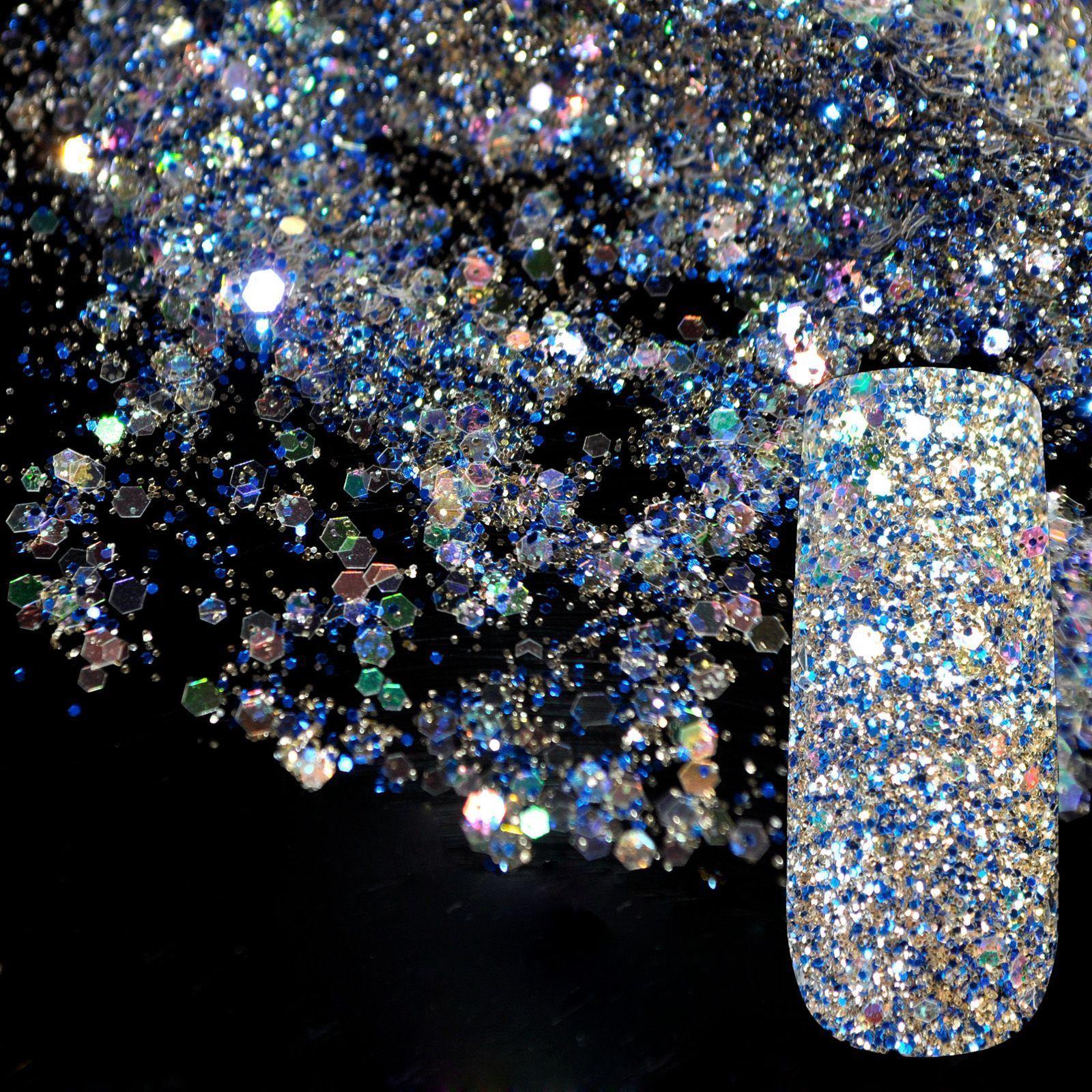 Dazzling Abalone Transparent Pailletten Staub DIY Nagel Glitter ...