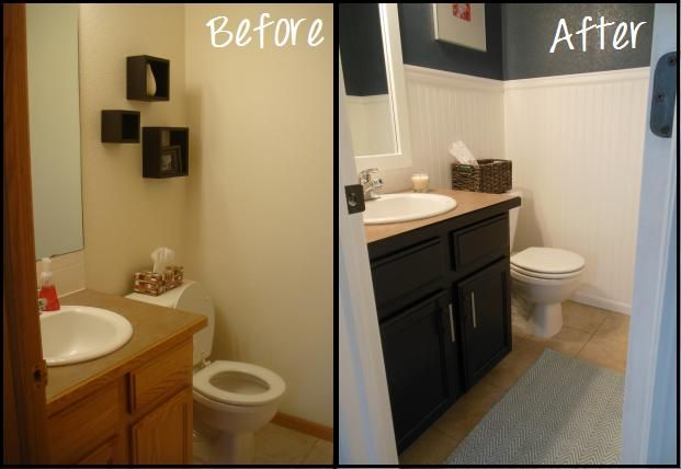 2perfection Decor Basement Coastal Bathroom Reveal: Best 25+ Half Bathroom Remodel Ideas On Pinterest