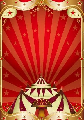 Circus Background Vectors | Vintage circus background vector ...