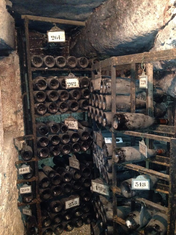 Some Of The Oldest Bottles Of Wine In Bouchard Pere Et Fils