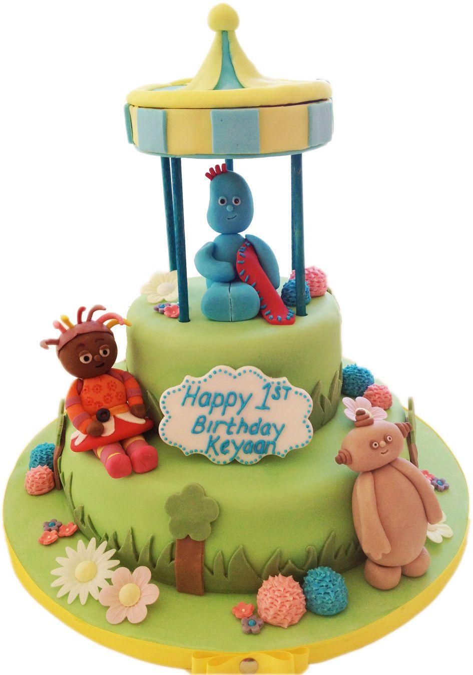 In The Night Garden Cake - Eggless Cake | Cake Station | Pinterest ...