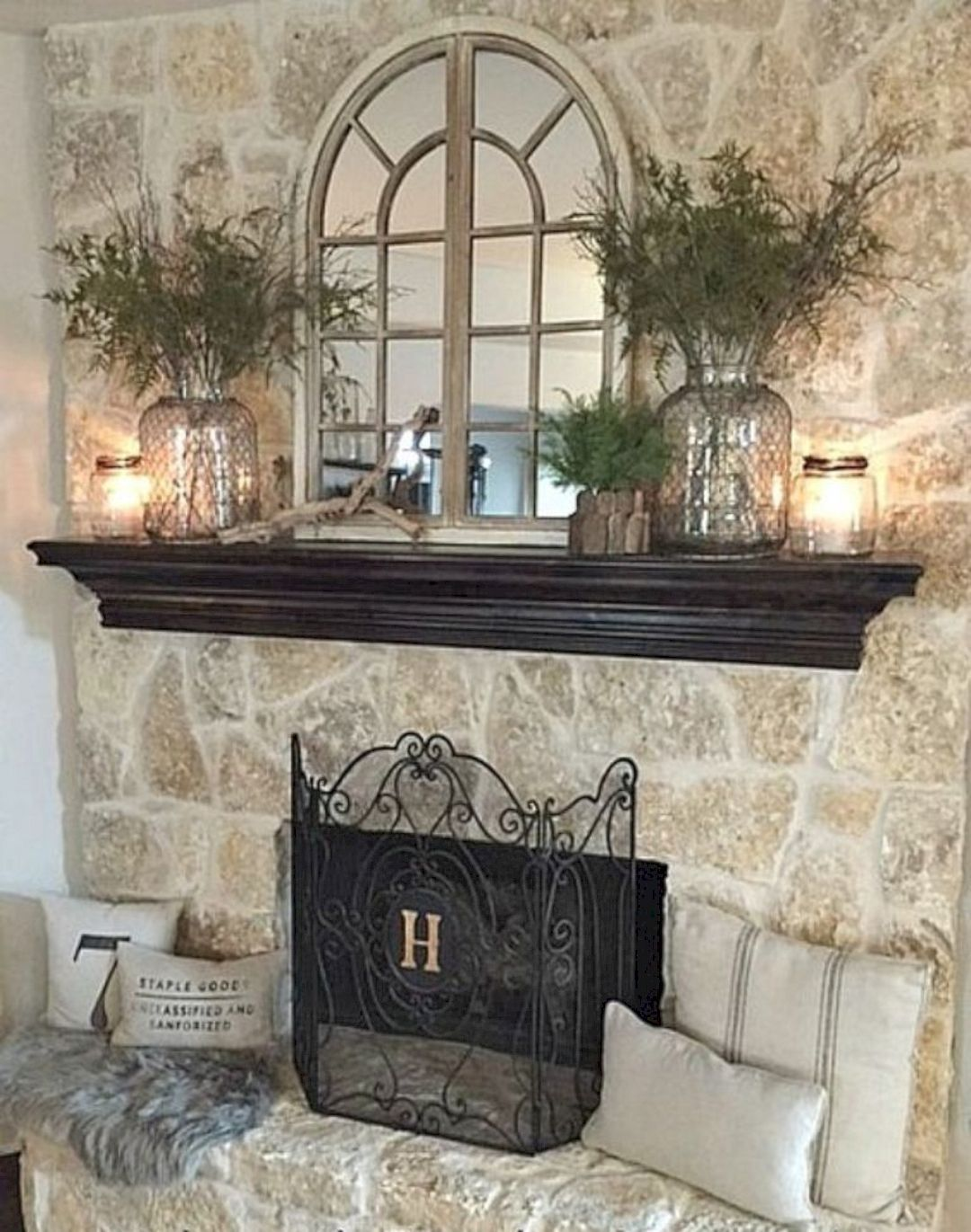 16 Fireplace Mantel Decorating Ideas Fireplace Mantle D