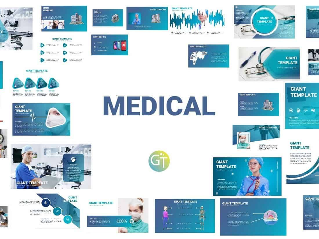 Medical Free Powerpoint Template Free Powerpoint Presentations Powerpoint Template Free Free Powerpoint Templates Download