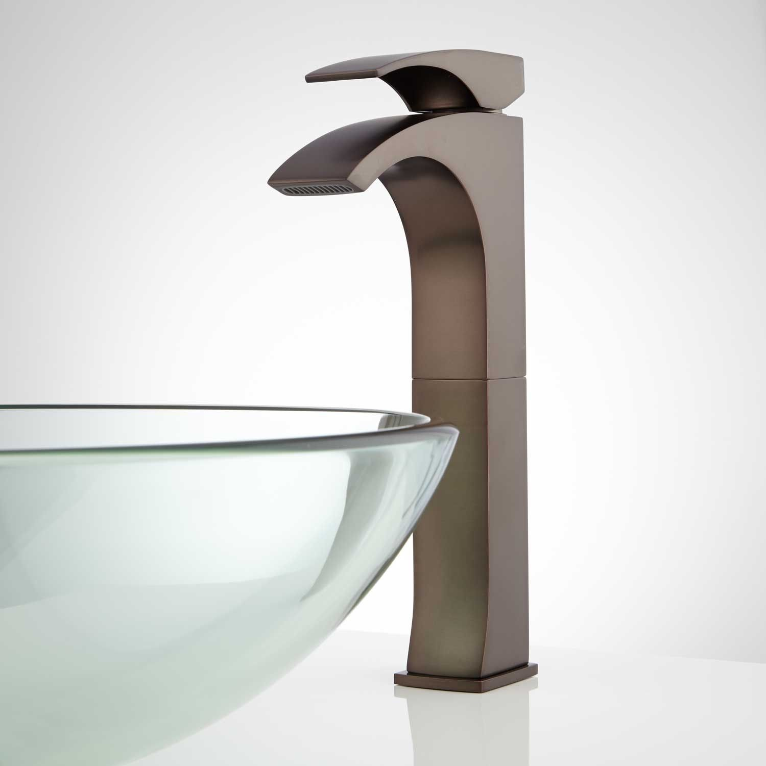 Montevallo Single Hole Vessel Faucet With Pop Up Drain Vessel