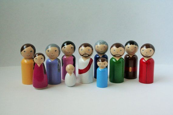 Bible Toys MARY 3 Inch Vinyl Figure Collect All 4 Of This Series Bible Studies