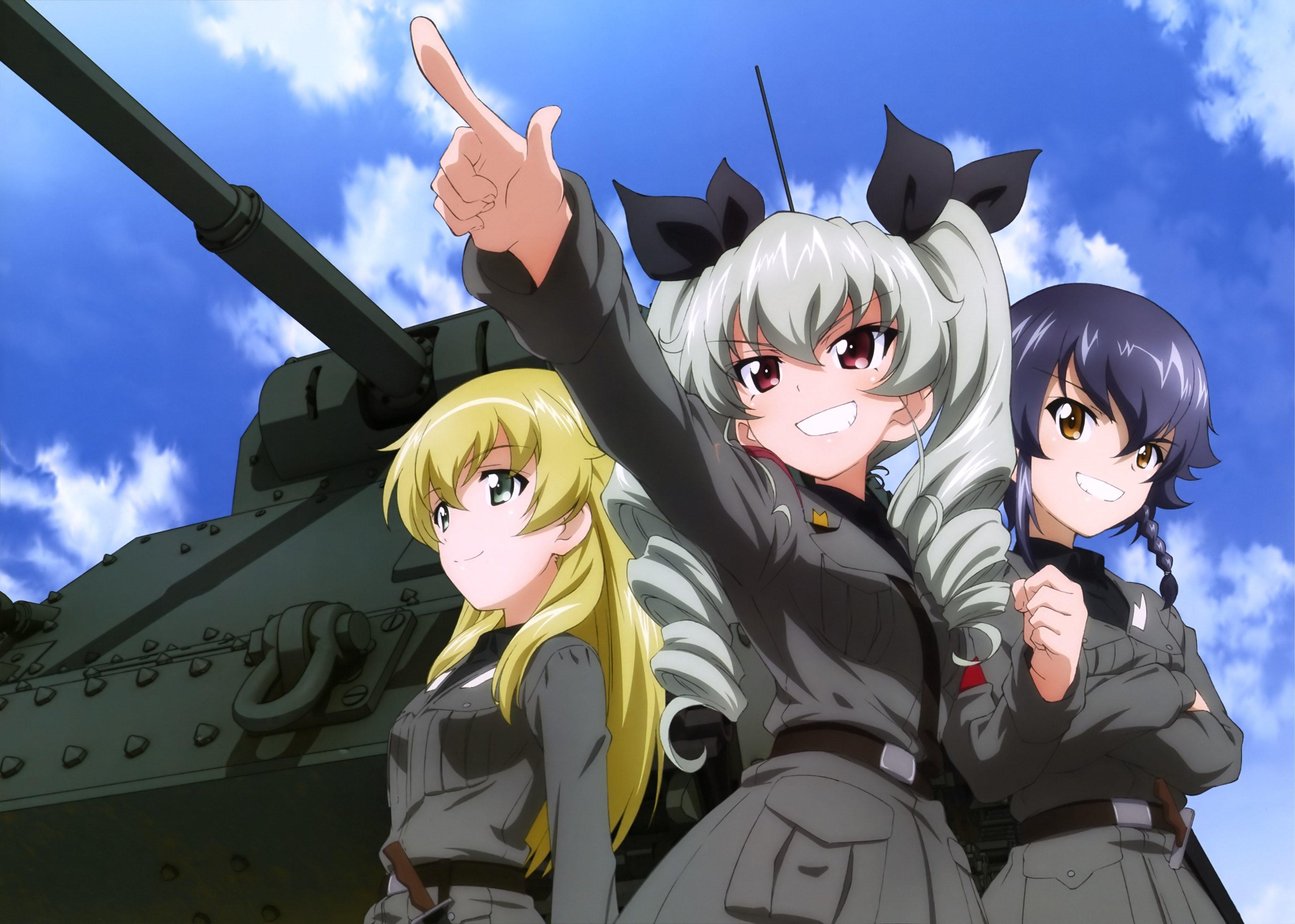 4k Girls Und Panzer Hd Wallpaper 4059x2896 キャラクター