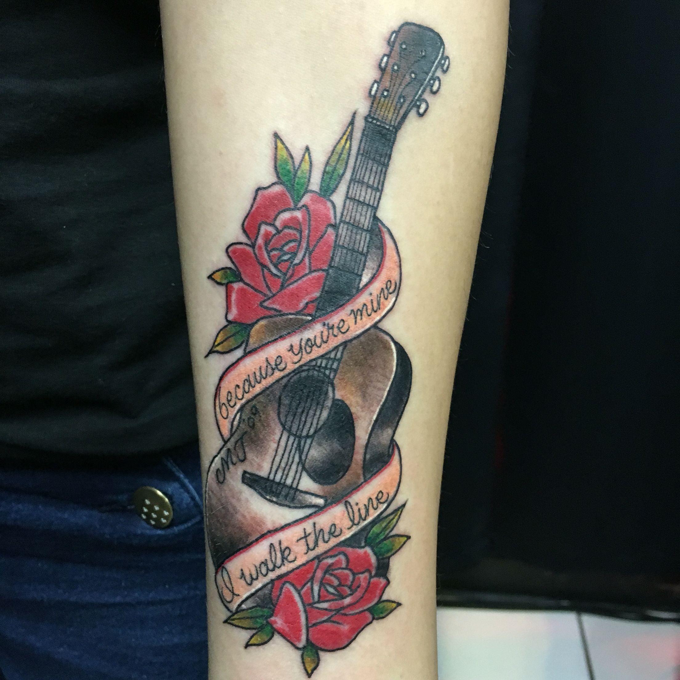 Tattoo Ideas Johnny: Because You're Mine, I Walk The Line... My Johnny Cash