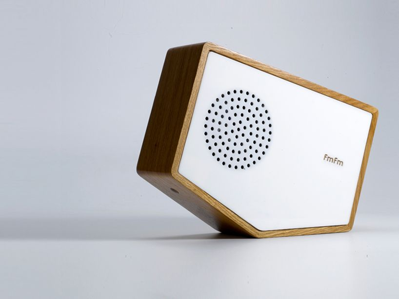 Interactive tilt radio by luka or hard goods radio design