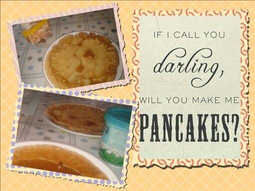 Pannenkoekjes op zondag!