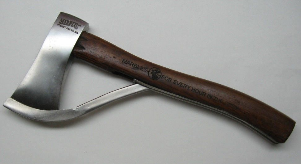 Love This Old Style American Axe Wood Handle Is A Must Marble S 5 Dark Wood Safety Axe Hatchet Marbles Mr005 New In Box Axe Hatchet Dark Wood