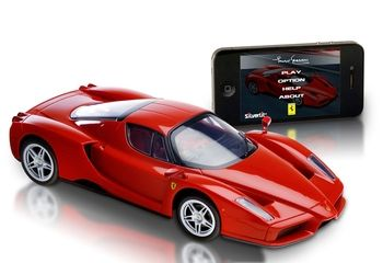 Catalog Spree - iPhone 5: iPhone Controlled Ferrari
