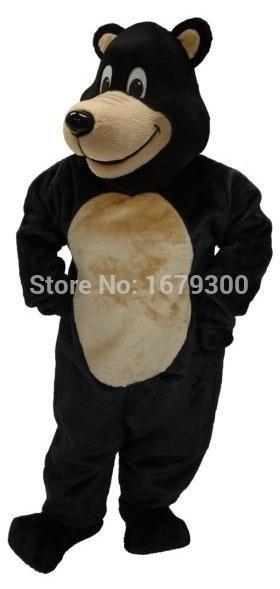 NO.1 high quality large black bear mascot costume adult size carnival costume   Costumes u0026 Accessories   Pinterest   Costume accessories Large black and ...  sc 1 st  Pinterest & NO.1 high quality large black bear mascot costume adult size ...