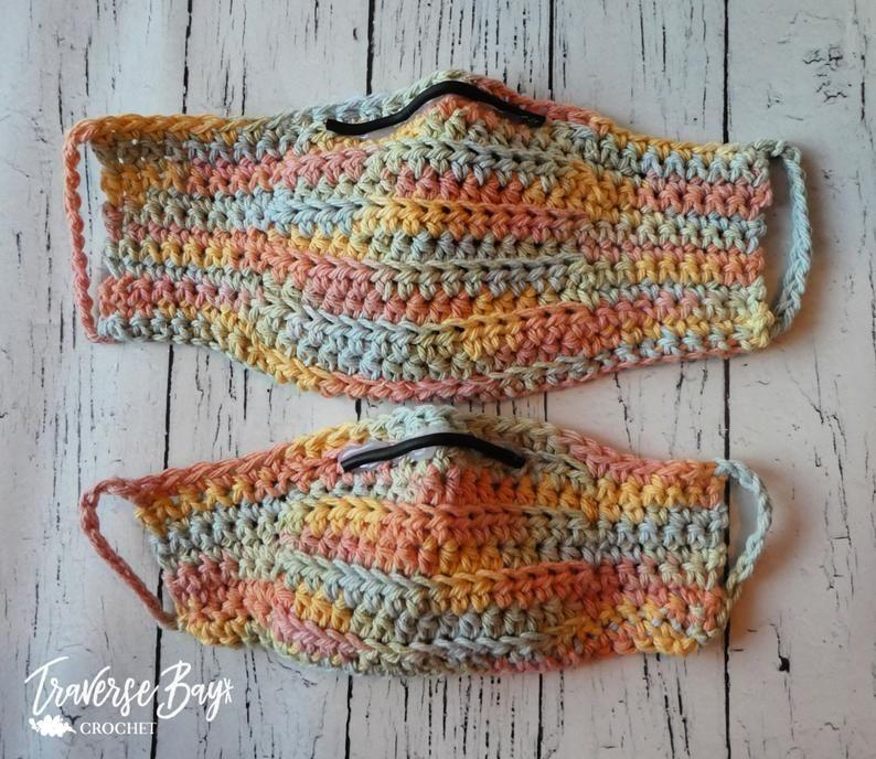 Free Crochet Pattern The K Pop Mask Crochet Mask Crochet