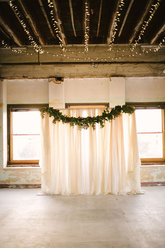 Backdrop Romantic Vintage Oklahoma Wedding Photo By