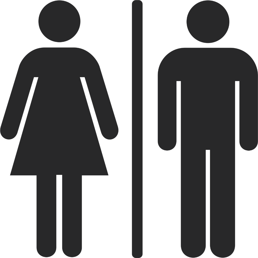 Men And Women Toilet Sign Vector Free Cdr File Free Download Cnc Vector Vector Free Toilet Sign Male And Female Signs