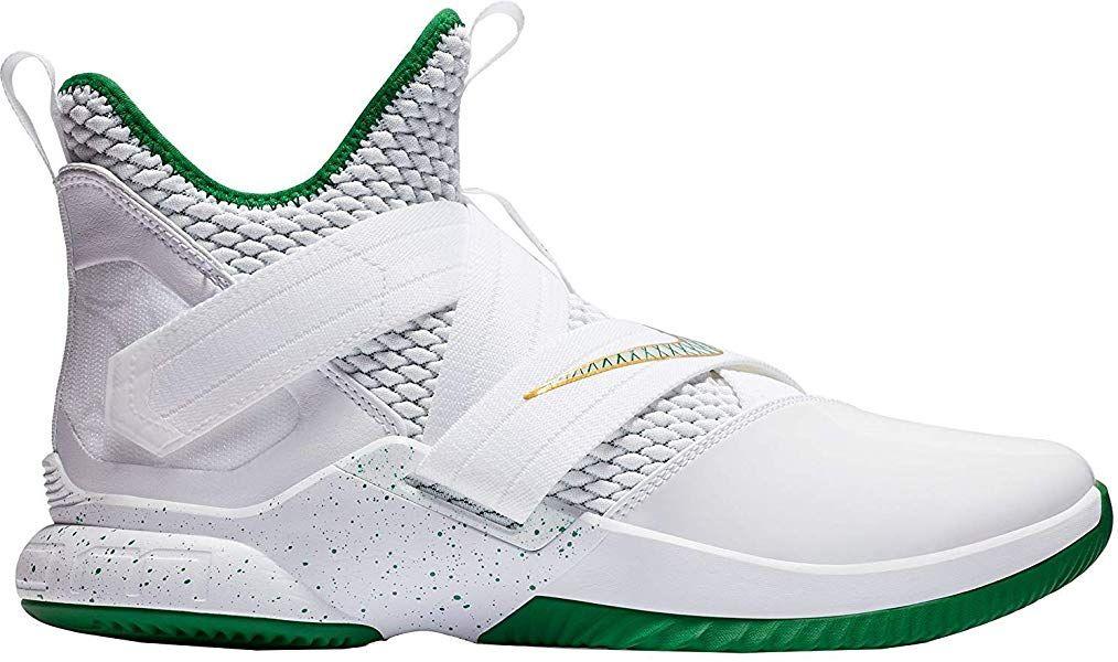 e05405489ab41 Amazon.com | Nike Lebron Soldier XII Mens Ao2609-100 Size 12 White ...