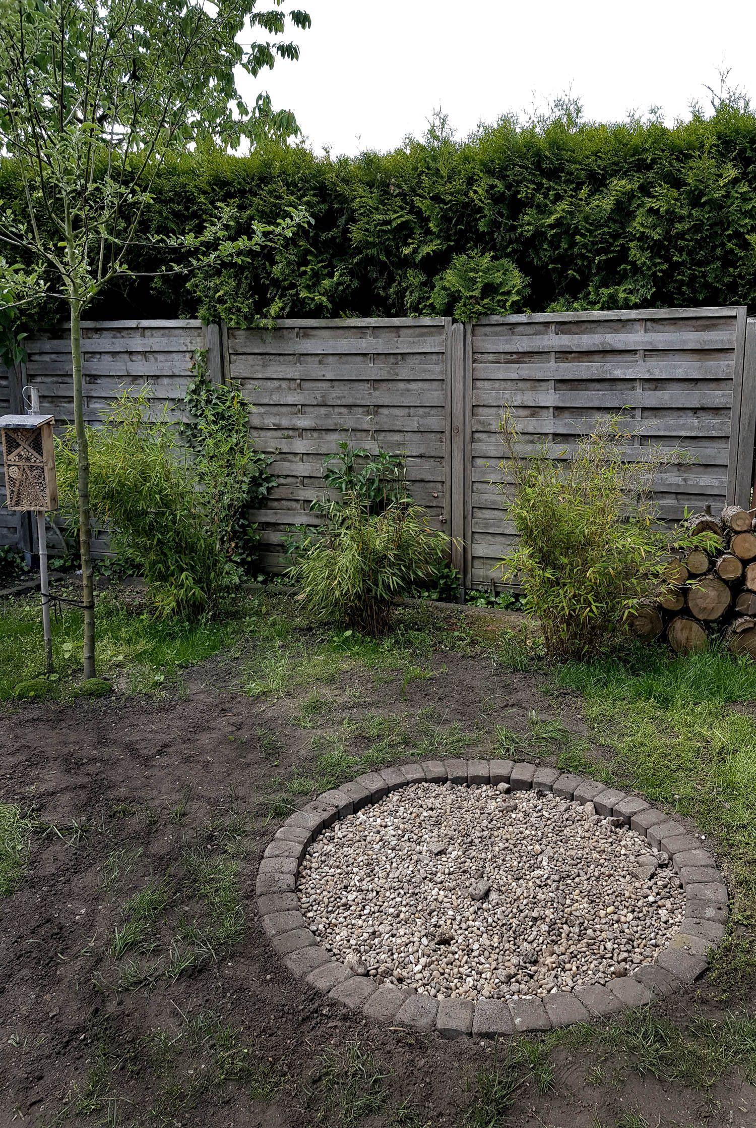 Eine Feuerstelle bauen im Garten mit einfachen Mitteln | DIY