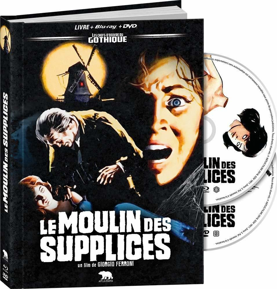 Mill Of The Stone Women Blu Ray France Blu Ray Blu Ray Movies
