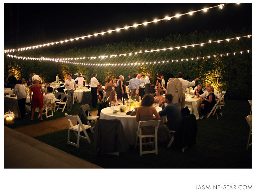 Parker Palm Springs Wedding Shannonjody String Of Lights For The
