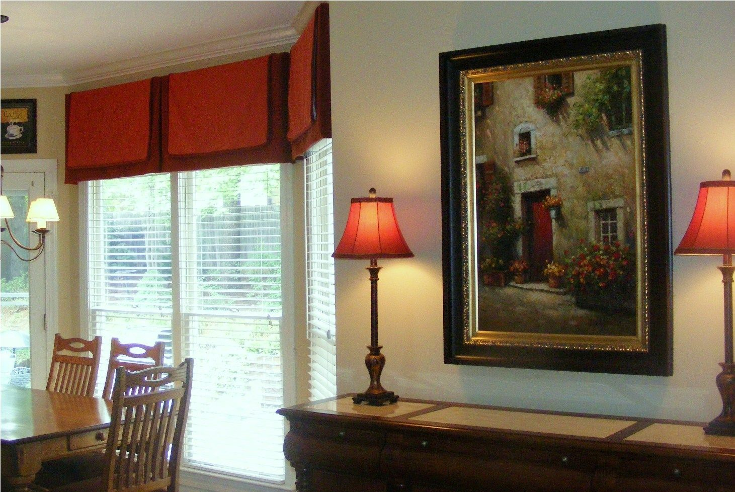 Kitchen window treatments  valance  for the home  pinterest  valance