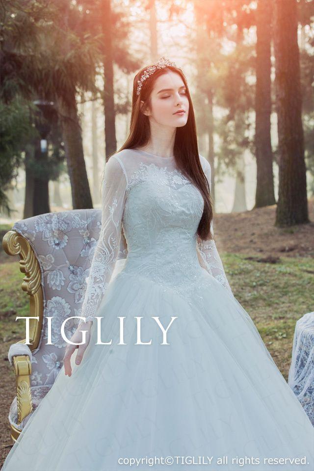 フィオーナ Fiona】ウェディングドレス_ホワイトドレス(w323 ...