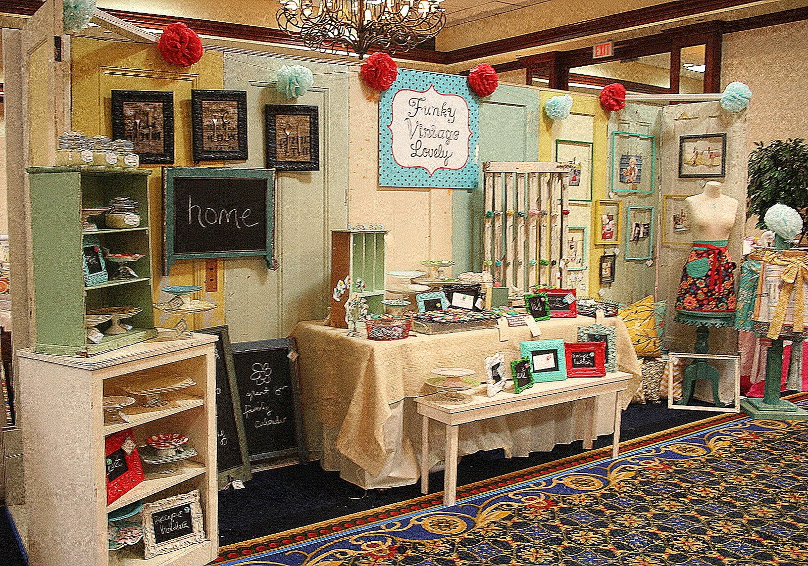 Flea Market Booth Decorating Ideas My Life My Style To