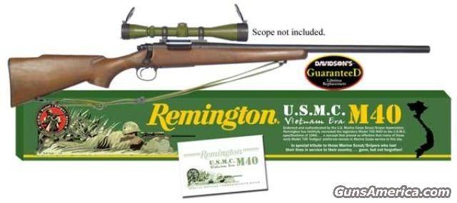Remington 700m40 Sniper Rifle For Sale 925631962 J U S