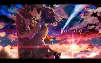 Hd Wallpaper Bối Cảnh Id 735 918 Con Imagenes Kimi No Na Wa Peliculas De Anime Imagenes Animadas