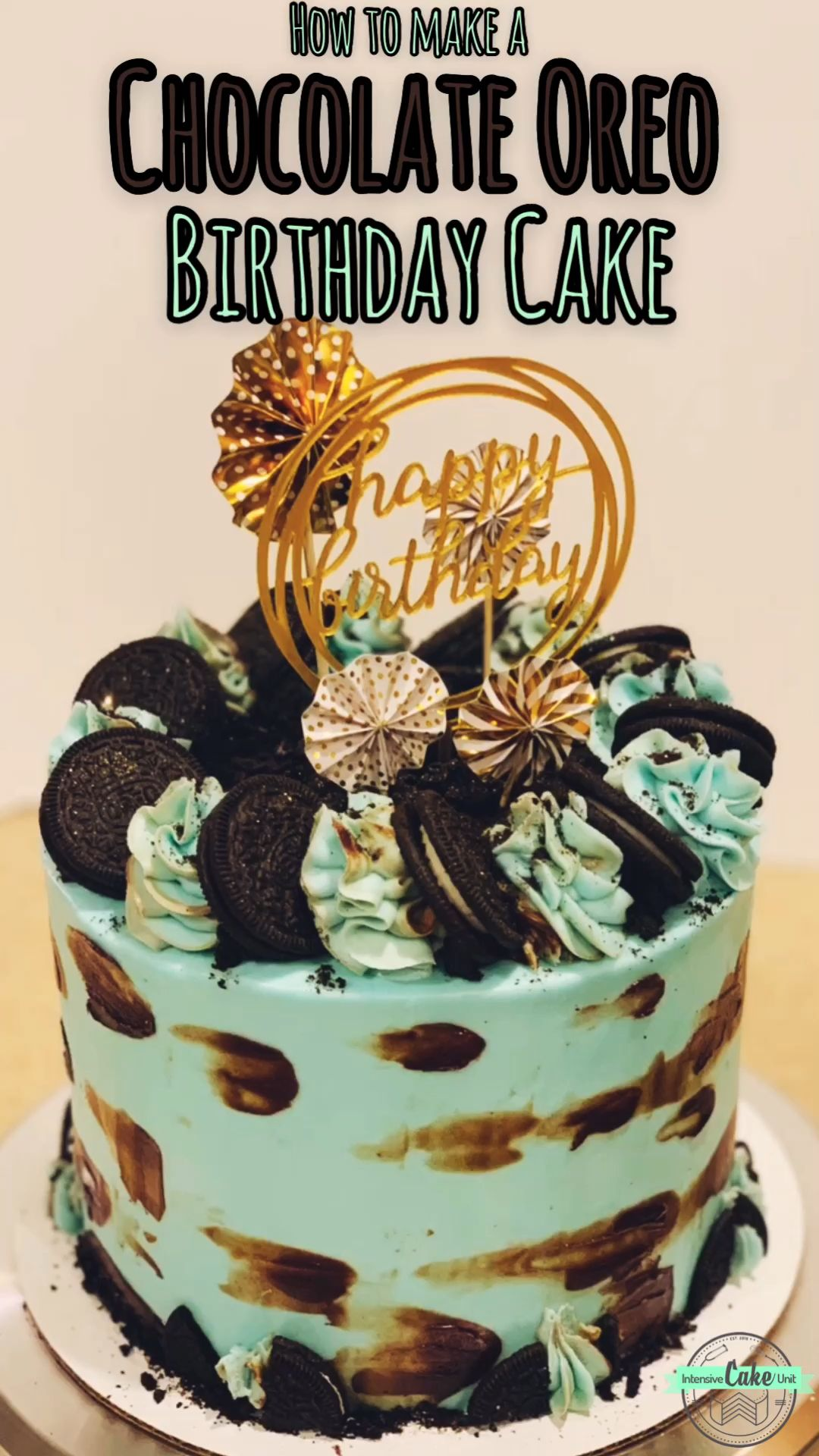 Chocolate Oreo Birthday Cake