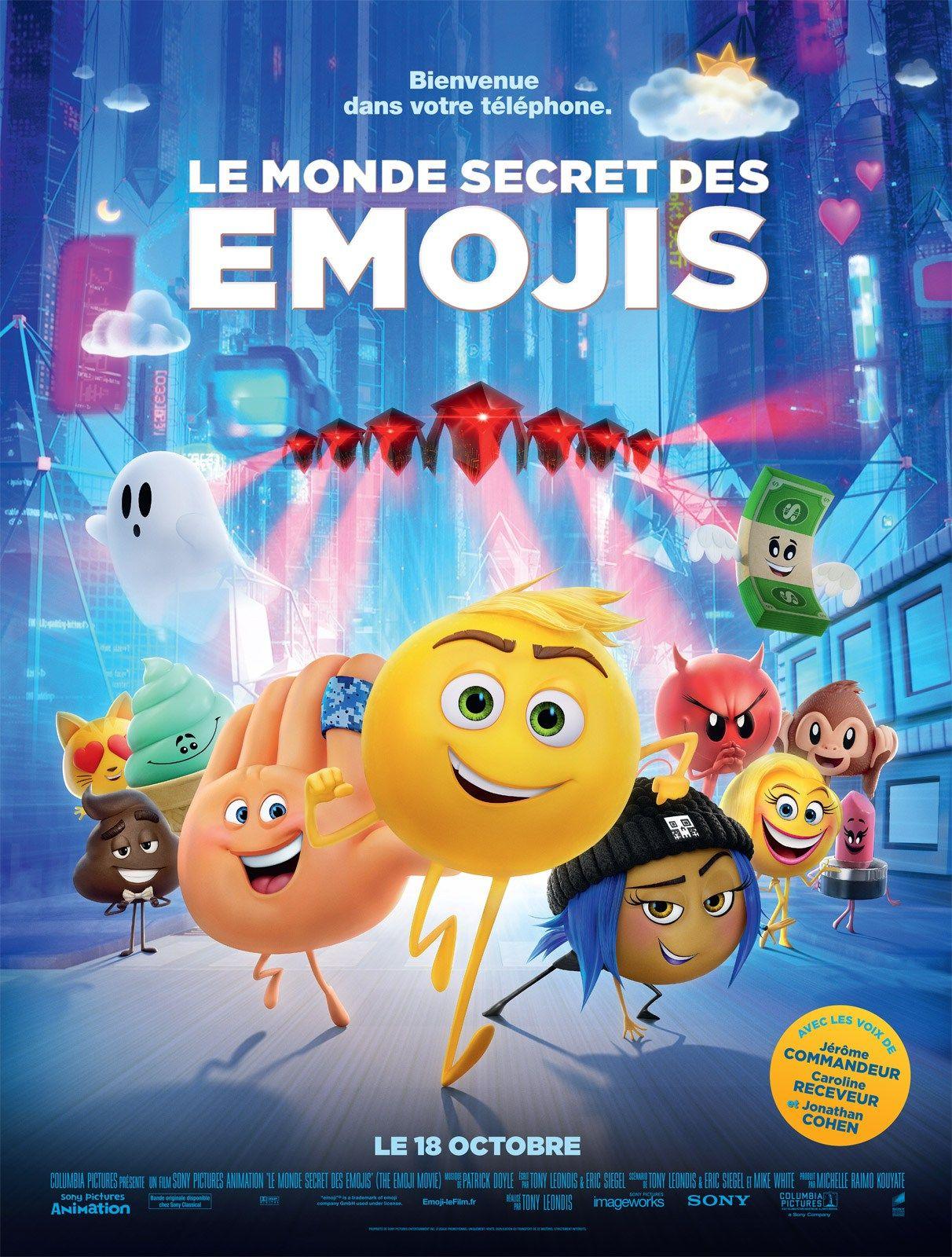 Le Monde secret des Emojis Français BDRiP Date de sortie