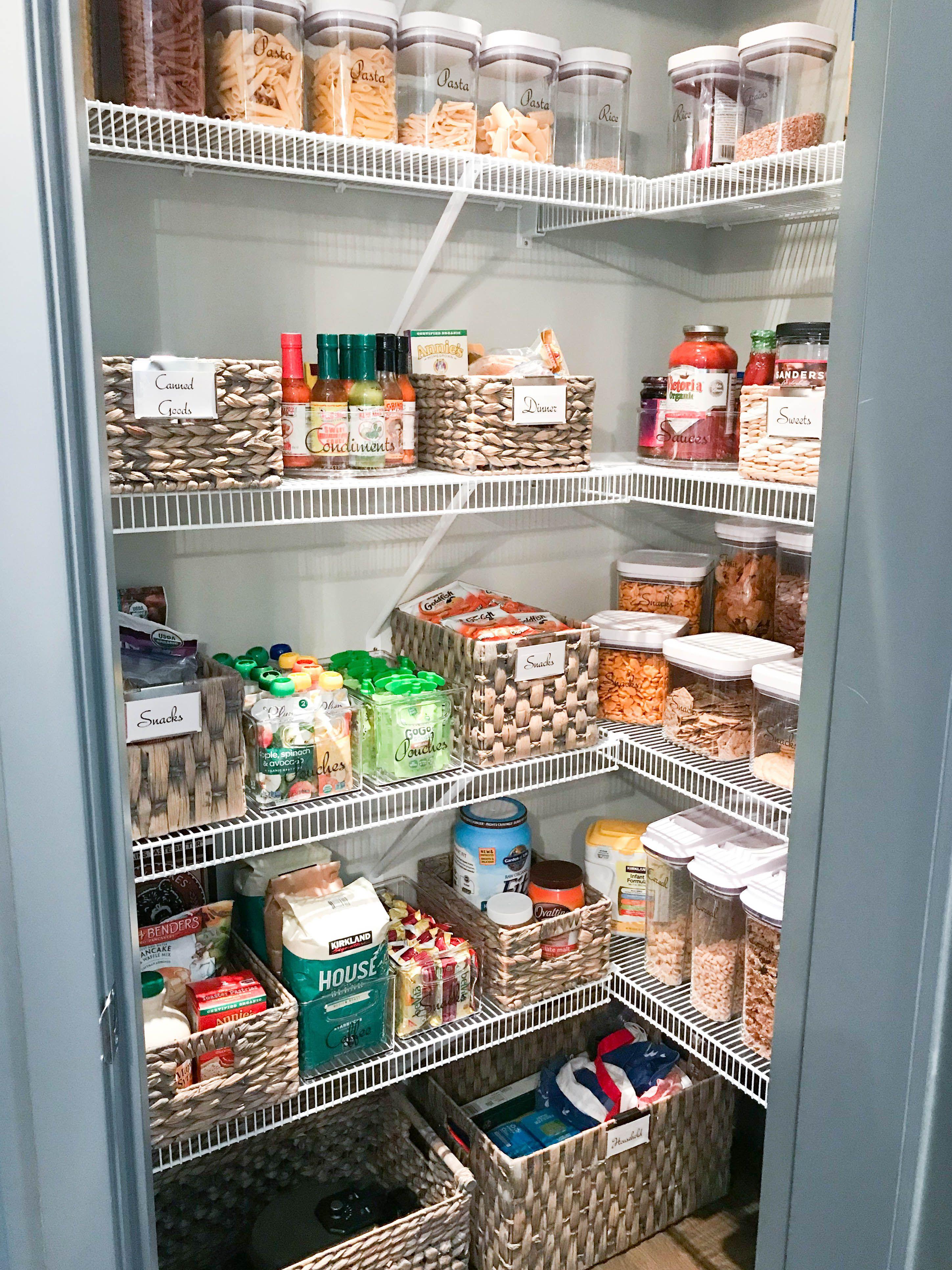 diy kitchen pantry organization ideas style dwell