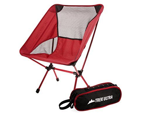 Nice Trekultra Camping Fold Up Chairs With Bag Portable Lightweight Heavy Duty Compact Great
