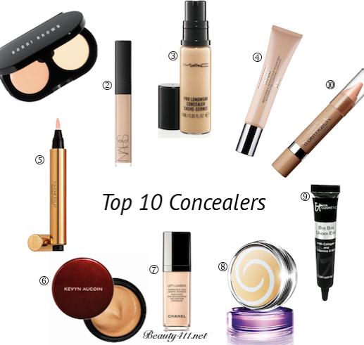 Top Ten Tuesday Top 10 Concealers Top 10 Concealers Beauty Makeup