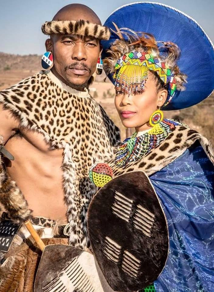 Zulu bride, umakoti wamampela!   Zulu traditional attire