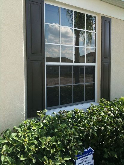 We Had All Of The Windows On The Front Of Our House Tinted With 3m
