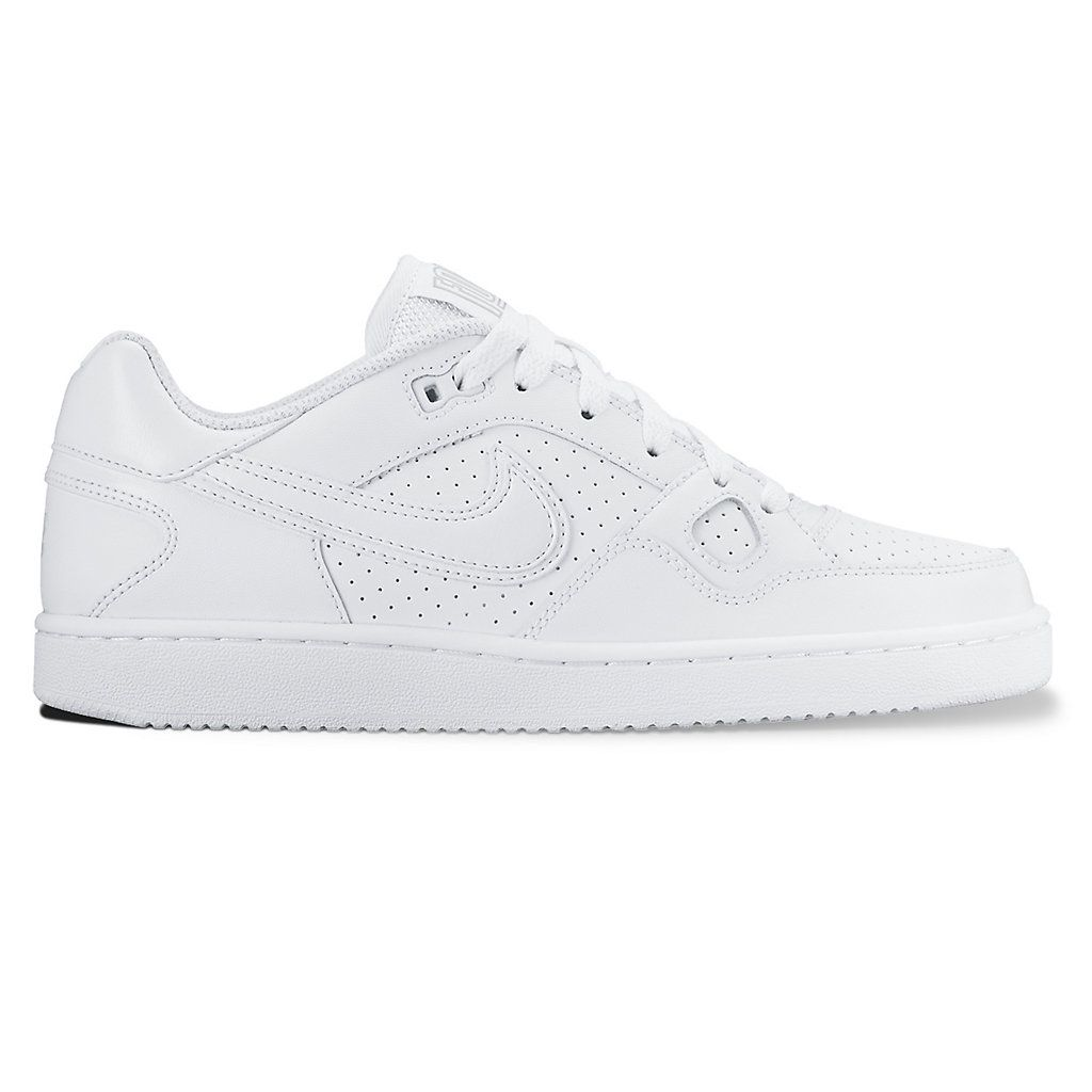 NIKE Nike air force sneakers Lady's SON FORTH MID GS sun force mid 615,158 109 shoes white