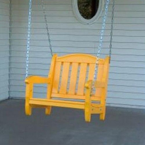 Prairie Leisure Aspen One Person Garden Swing Chair Seat