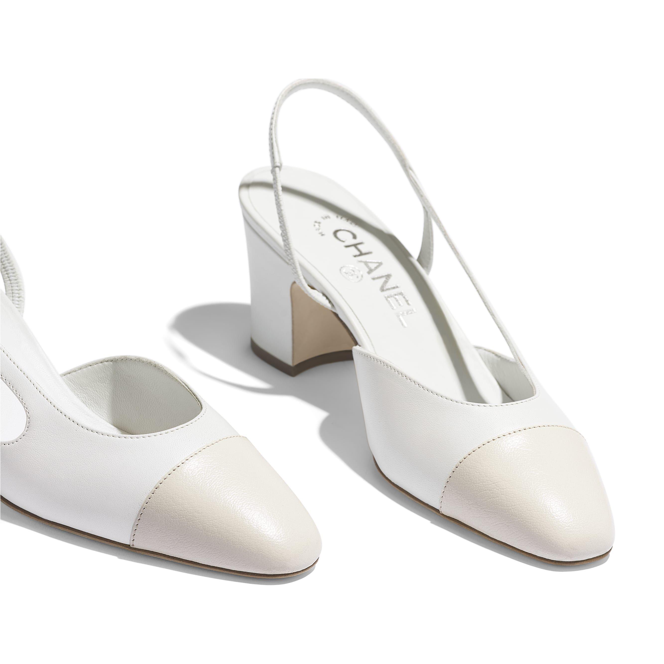 Chanel heels, Heels, High heel sandals