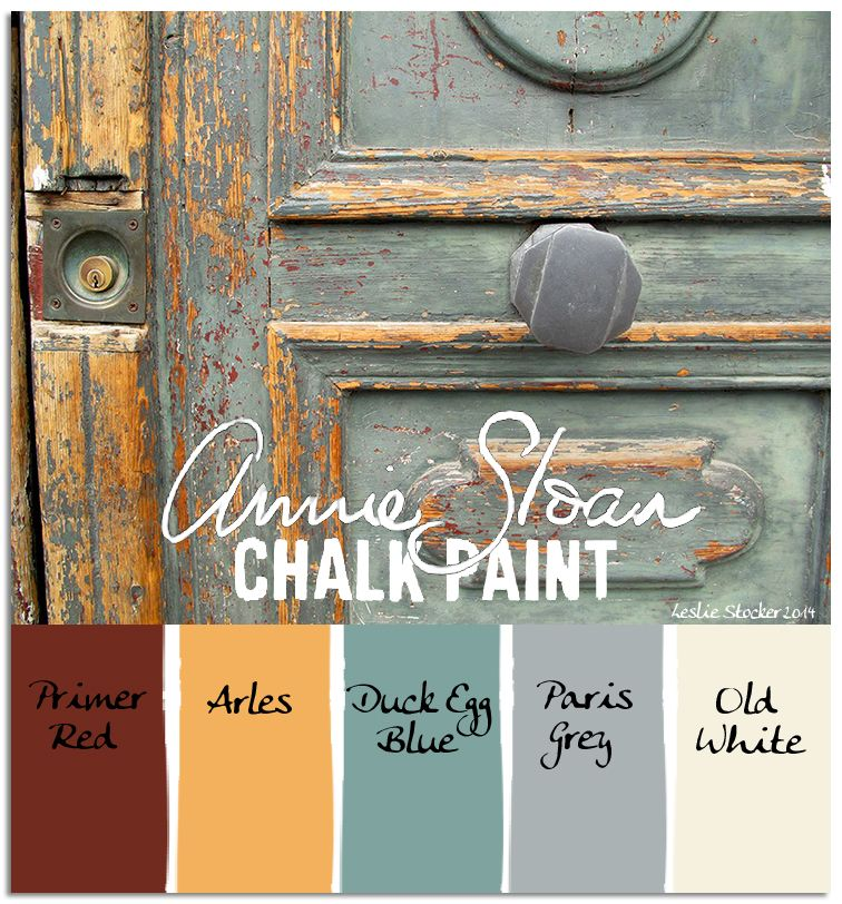 colorways an annie sloan chalk paint color palette as. Black Bedroom Furniture Sets. Home Design Ideas