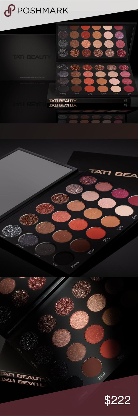 Tati Beauty Textured Neutrals Vol I NWT Colorful