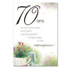 carte anniversaire 70 ans a imprimer